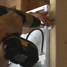 Cordless drill for do it yourself wiring